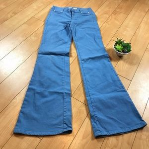 Wide leg Joe's jeans 👖 powder blue Sz. 26